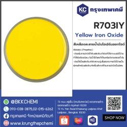 Yellow Iron Oxide : สีเหลืองละลายน้ำมันไอเอิร์นออกไซด์